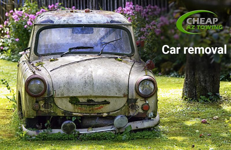 Car Removal - Towing Gold Coast - Cheap AZ Towing